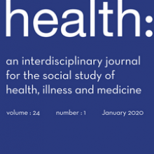 Health journal cover